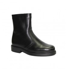 Half Zip Boot cane Tolino in black