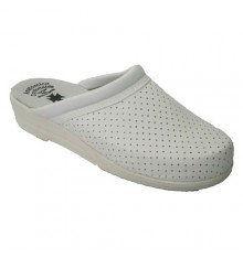 Clog single lady Otro in white