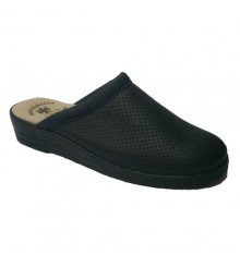 Clog single lady Otro in navy blue