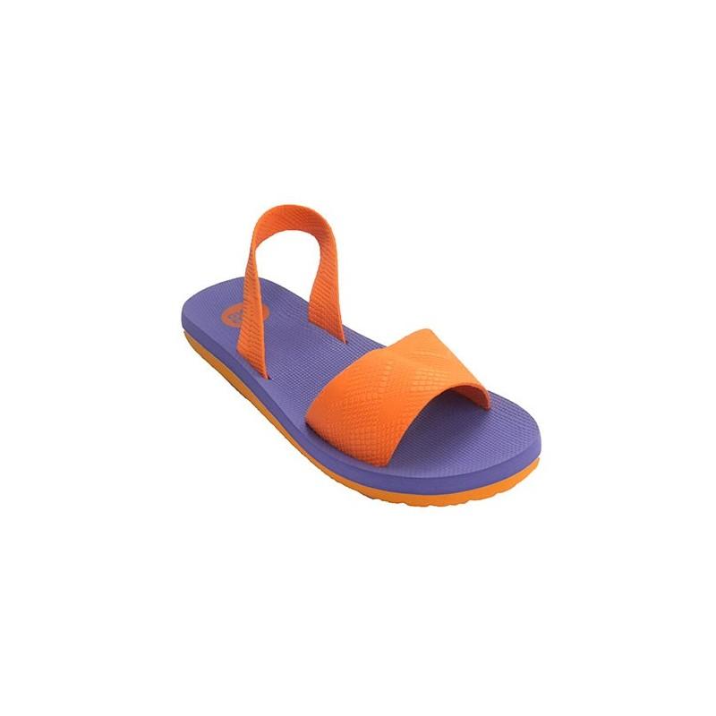 En Playa Gioseppo Mujer Por O Goma Con Detrás Sandalia Piscina Naranja Tira xodCeBr