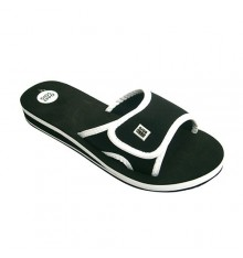 Thongs pool or beach shovel woman velcro Gioseppo in black