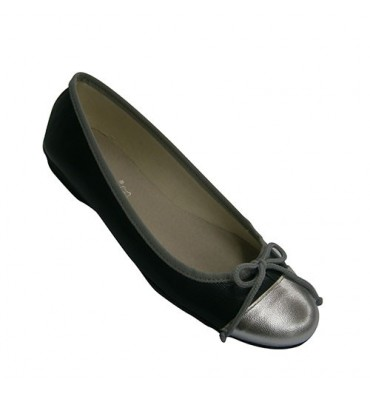 Classical Ballet flats Woman Andinas in navy blue