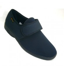 Man shoe very comfortable lycra entire blade Alberola in navy blue