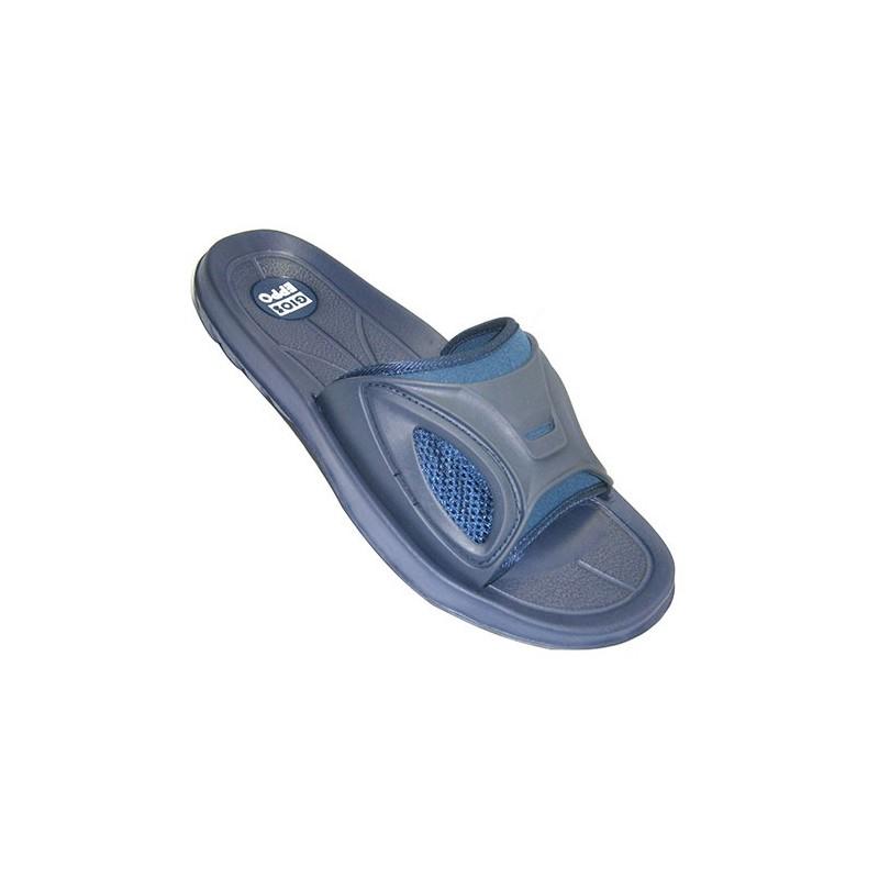 comprar chanclas de piscina hombre gioseppo en azul marino