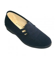 Gummies shoe woman closed the sides Soca in navy blue