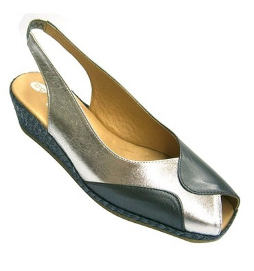 Wedge sandal hemp Doctor Cutillas in various colors