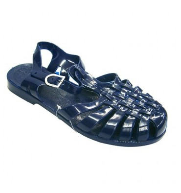 Crabeater rubber sandals River Hurán in navy blue