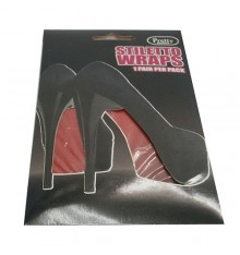 decorative sheet for sole high heels Cairon in red