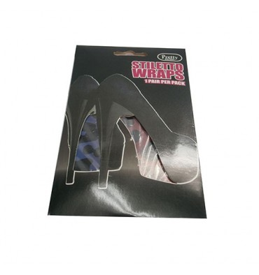 decorative sheet for sole high heels Cairon in purple