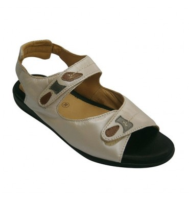 Sandal very comfortable very soft plant woman Doctor Cutillas in beig