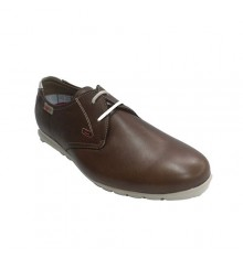 Shoe laces sporty type man very soft NUPER in brown