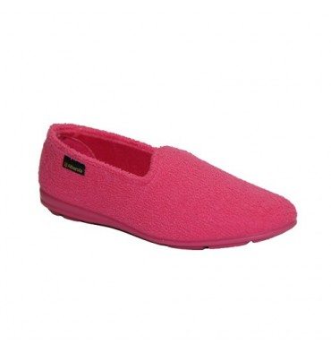 Closed shoe towel Alberola in fuchsia
