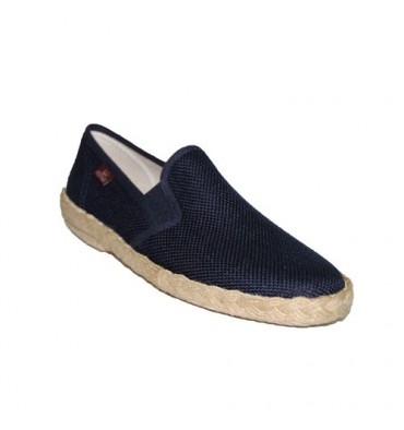 Canvas Shoes Slip Festival in navy blue