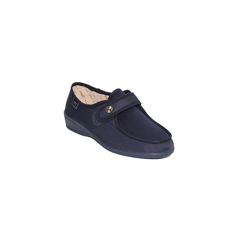 Zapatilla plana con gomas a los lados muy cómodas Doctor Cutillas en azul marino talla 36 yT4Sxpv5