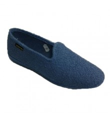 Slipper be flat house towel Alberola in blue