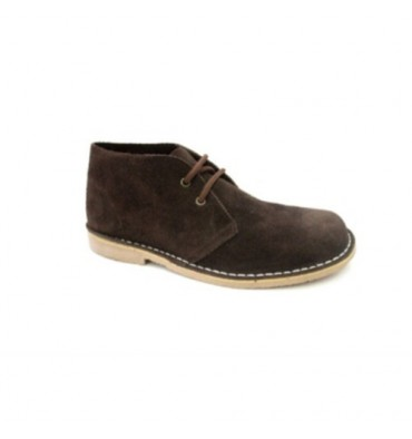 Wide toe boot safari Danka in brown
