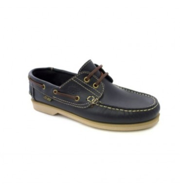 Nautical thin soles Danka in navy blue