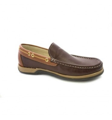 Untyped cords nautical moccasin Danka in brown