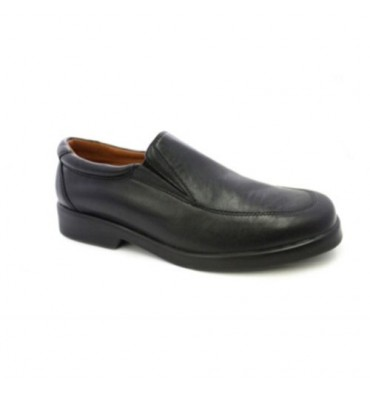 Waiter shoe without laces Danka in black
