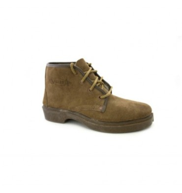 Suede boot laces work Segarra in Camel