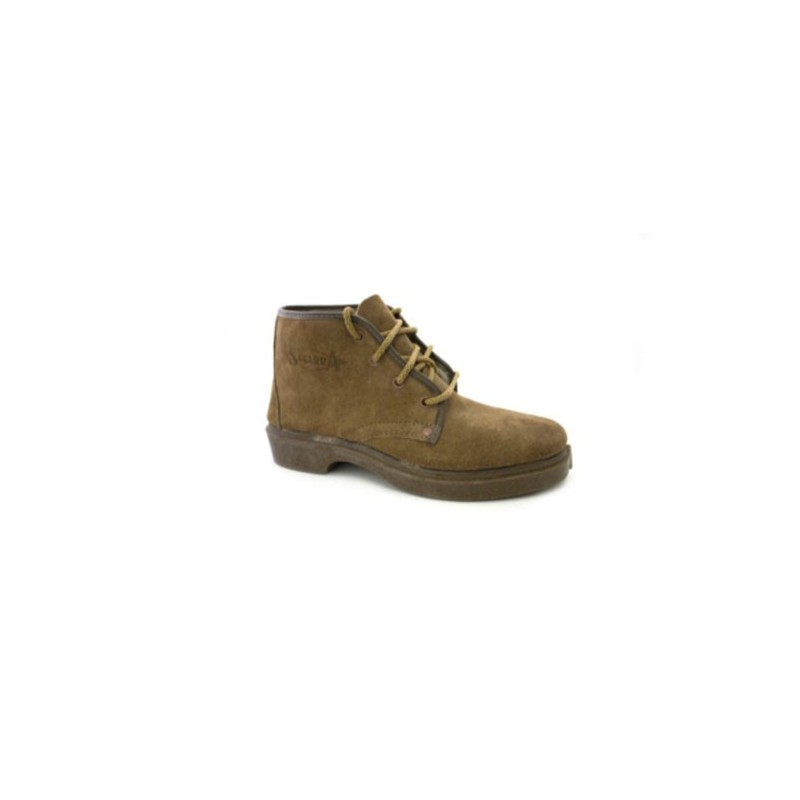 Zapato trabajo cordones serraje Vulsega en camel talla 39 krrX9